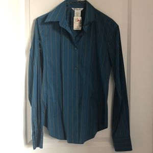 Made in Italy striped shirt - size 4- new